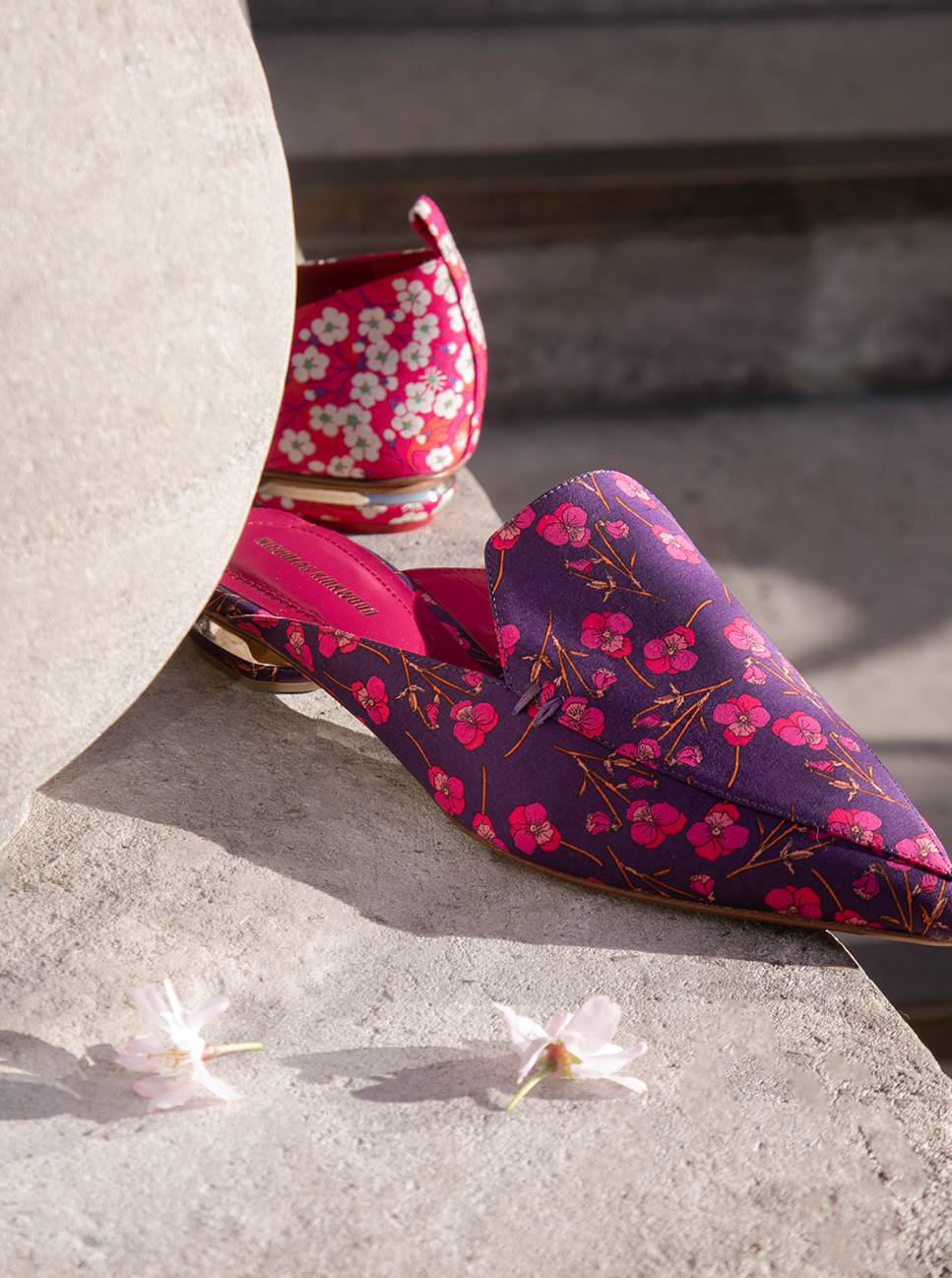 Discover our new Beya collection made with Liberty Fabrics.
